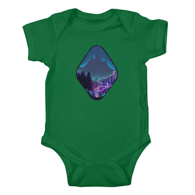 Warmth of love Kids Baby Bodysuit by barmalisiRTB