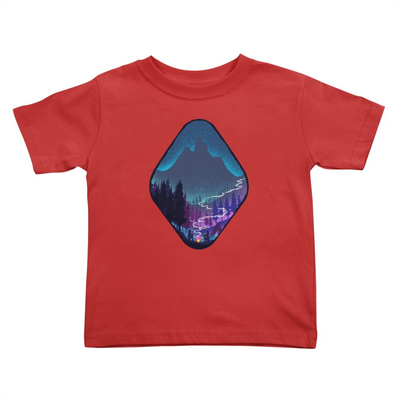 Warmth of love Kids Toddler T-Shirt by barmalisiRTB