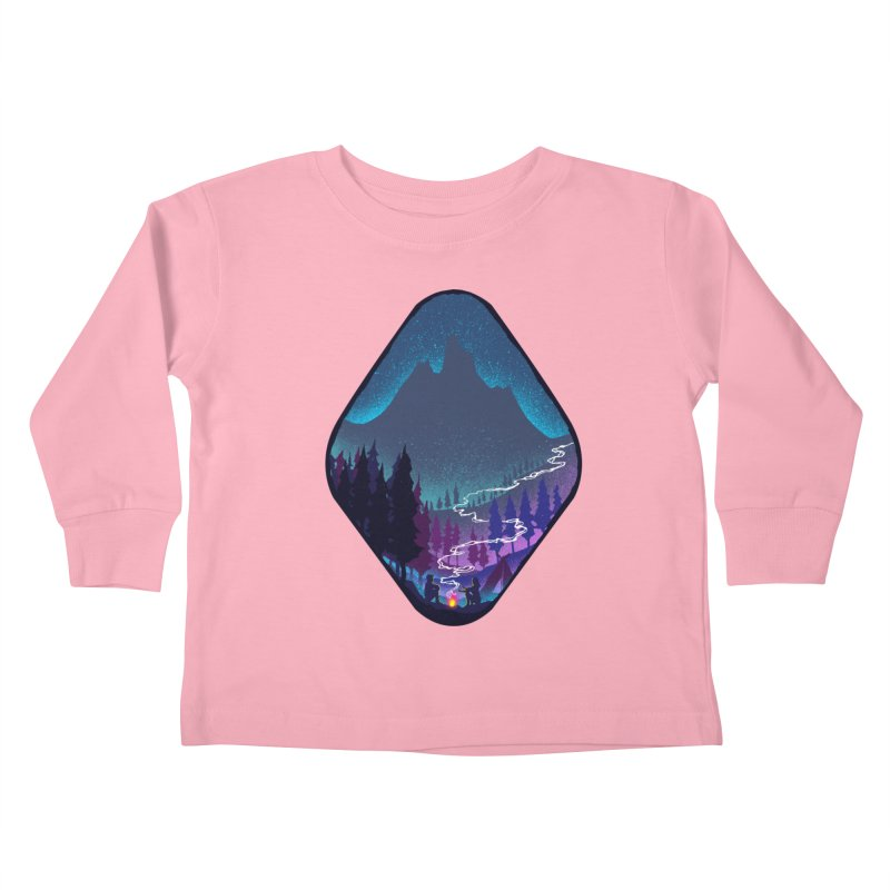 Warmth of love Kids Toddler Longsleeve T-Shirt by barmalisiRTB