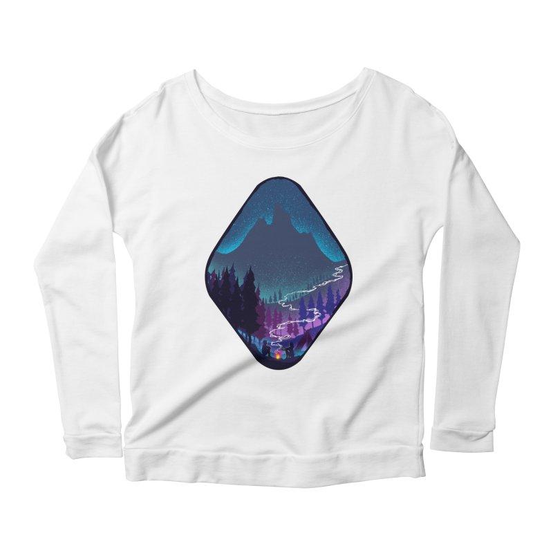 Warmth of love Women's Scoop Neck Longsleeve T-Shirt by barmalisiRTB