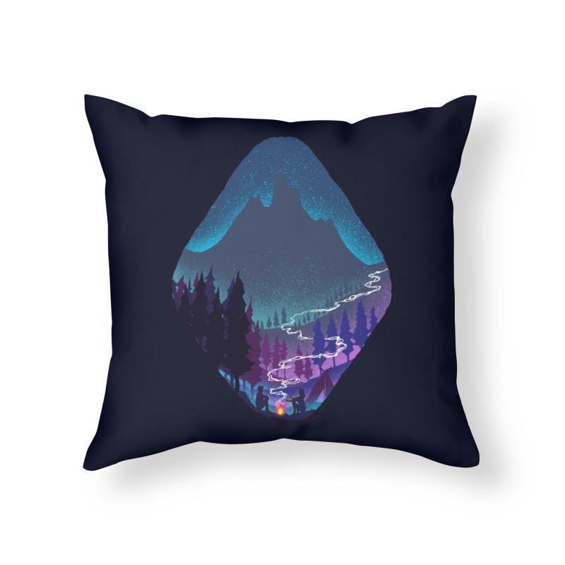 Warmth of love Home Throw Pillow by barmalisiRTB