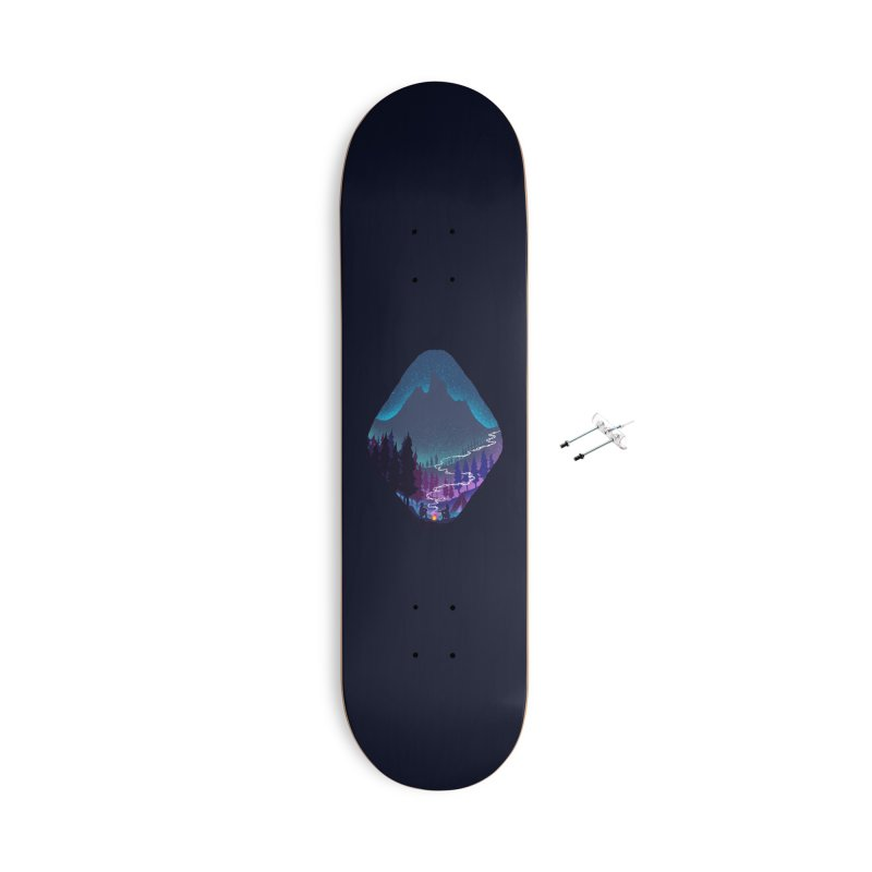 Warmth of love Accessories With Hanging Hardware Skateboard by barmalisiRTB