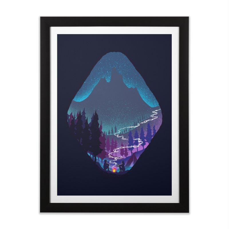 Warmth of love Home Framed Fine Art Print by barmalisiRTB