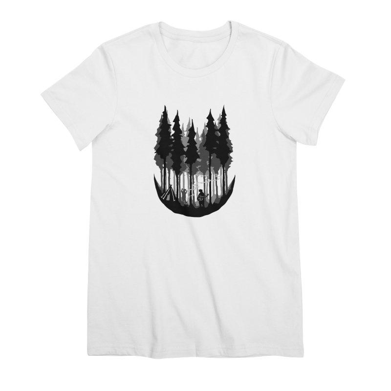 Enjoy camping Women's Premium T-Shirt by barmalisiRTB