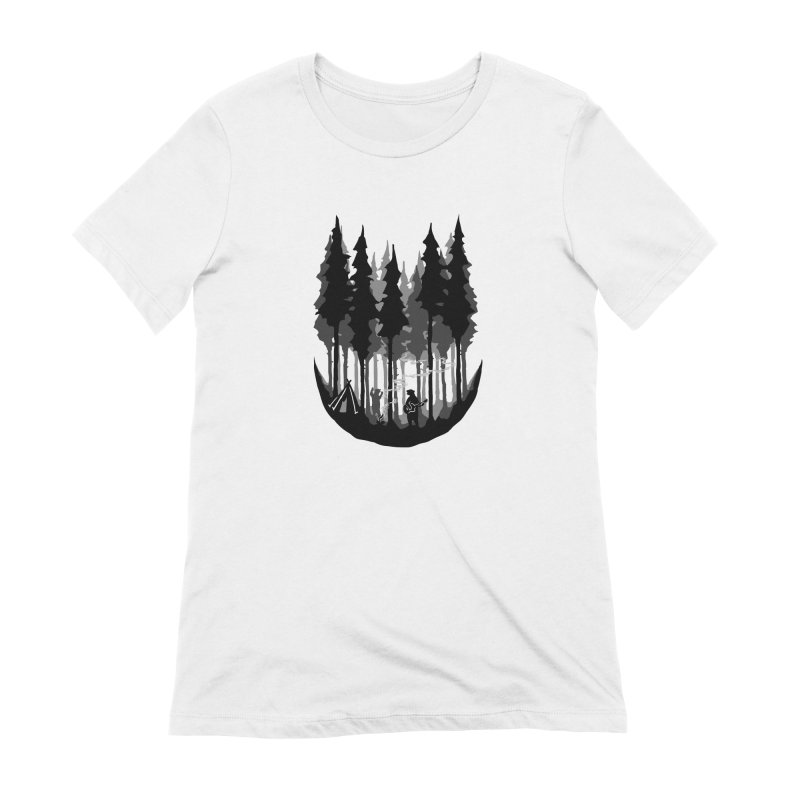 Enjoy camping Women's Extra Soft T-Shirt by barmalisiRTB