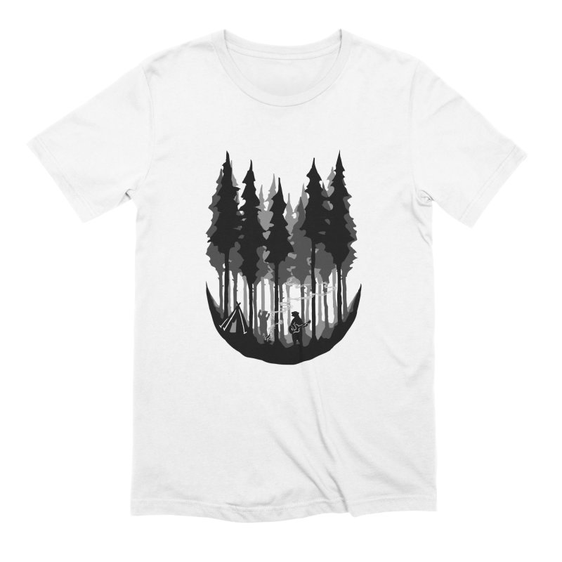 Enjoy camping Men's Extra Soft T-Shirt by barmalisiRTB