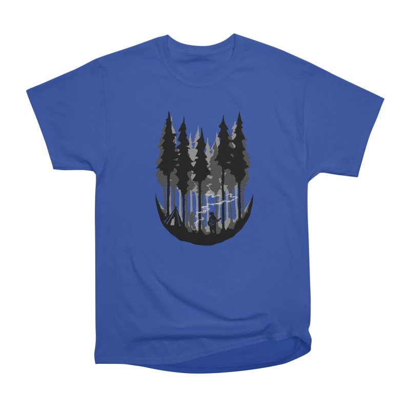 Enjoy camping Men's Heavyweight T-Shirt by barmalisiRTB