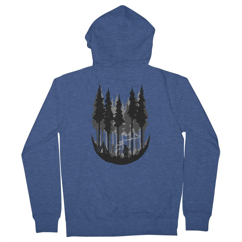 Enjoy camping Women's French Terry Zip-Up Hoody by barmalisiRTB