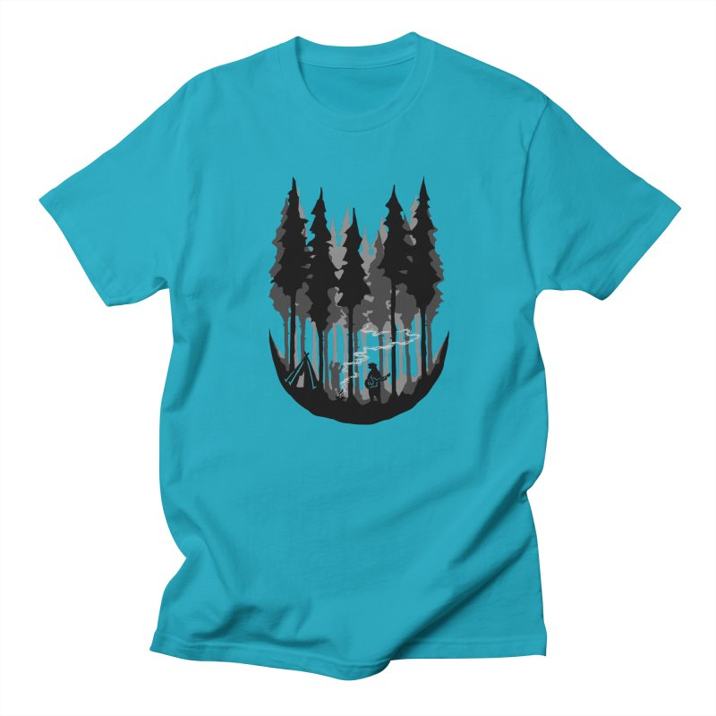 Enjoy camping Women's Regular Unisex T-Shirt by barmalisiRTB