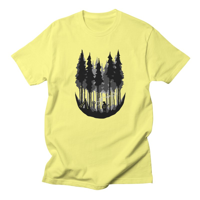Enjoy camping Men's Regular T-Shirt by barmalisiRTB