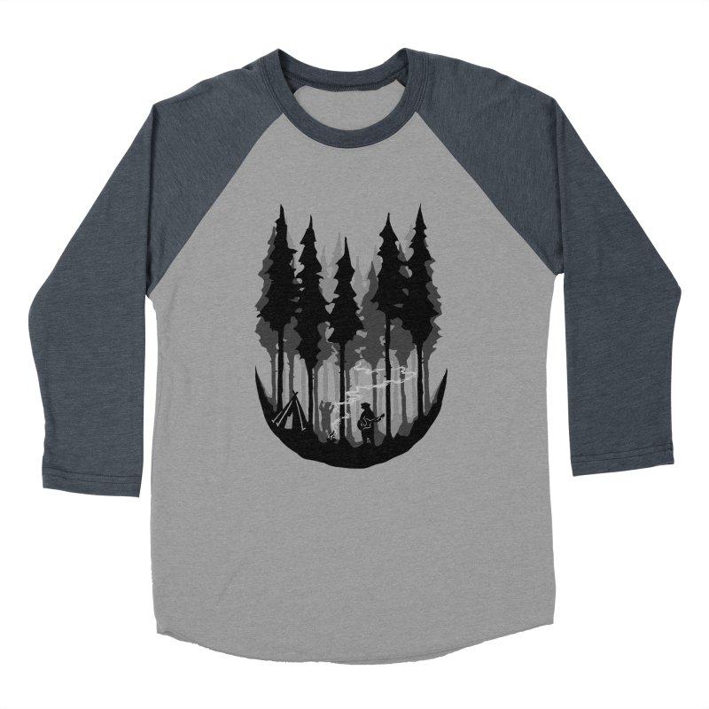 Enjoy camping Women's Baseball Triblend Longsleeve T-Shirt by barmalisiRTB