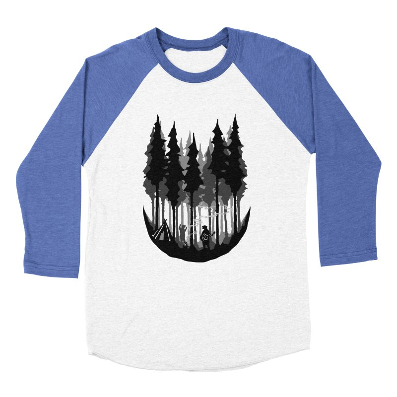 Enjoy camping Men's Baseball Triblend Longsleeve T-Shirt by barmalisiRTB