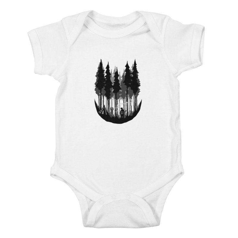Enjoy camping Kids Baby Bodysuit by barmalisiRTB