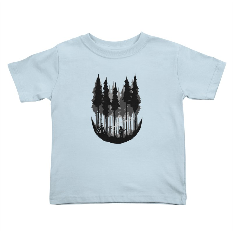 Enjoy camping Kids Toddler T-Shirt by barmalisiRTB