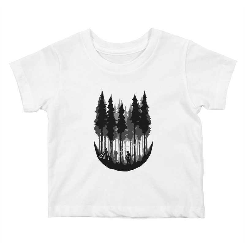 Enjoy camping Kids Baby T-Shirt by barmalisiRTB