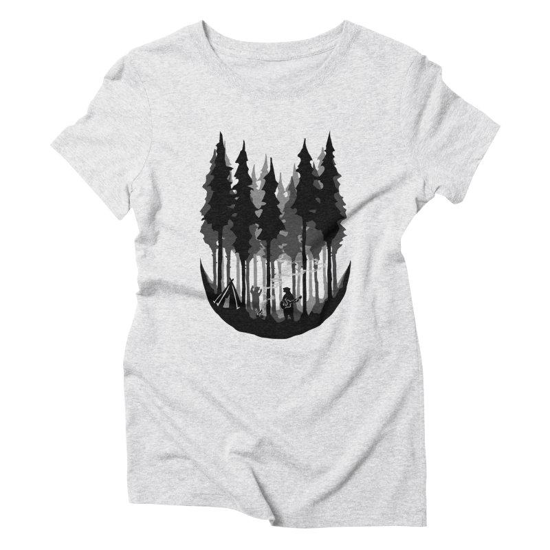 Enjoy camping Women's Triblend T-Shirt by barmalisiRTB