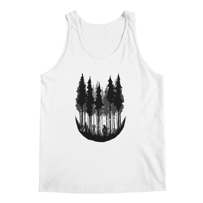 Enjoy camping Men's Regular Tank by barmalisiRTB