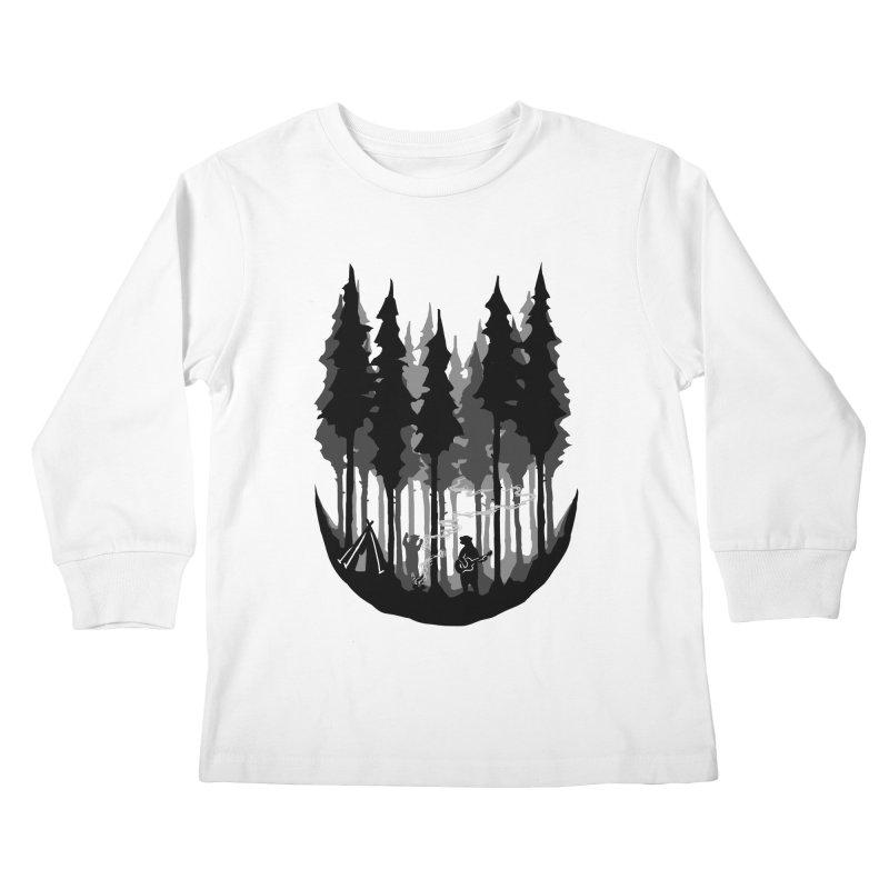 Enjoy camping Kids Longsleeve T-Shirt by barmalisiRTB