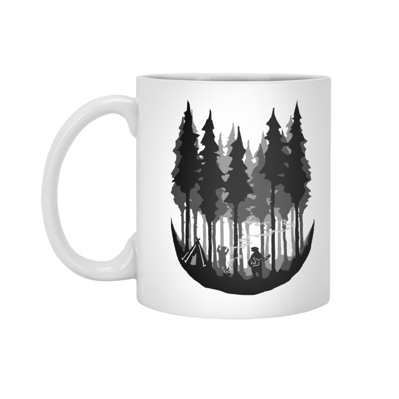 Enjoy camping Accessories Standard Mug by barmalisiRTB