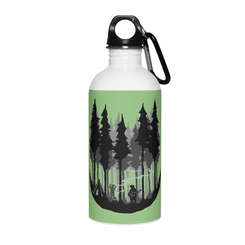 Enjoy camping Accessories Water Bottle by barmalisiRTB