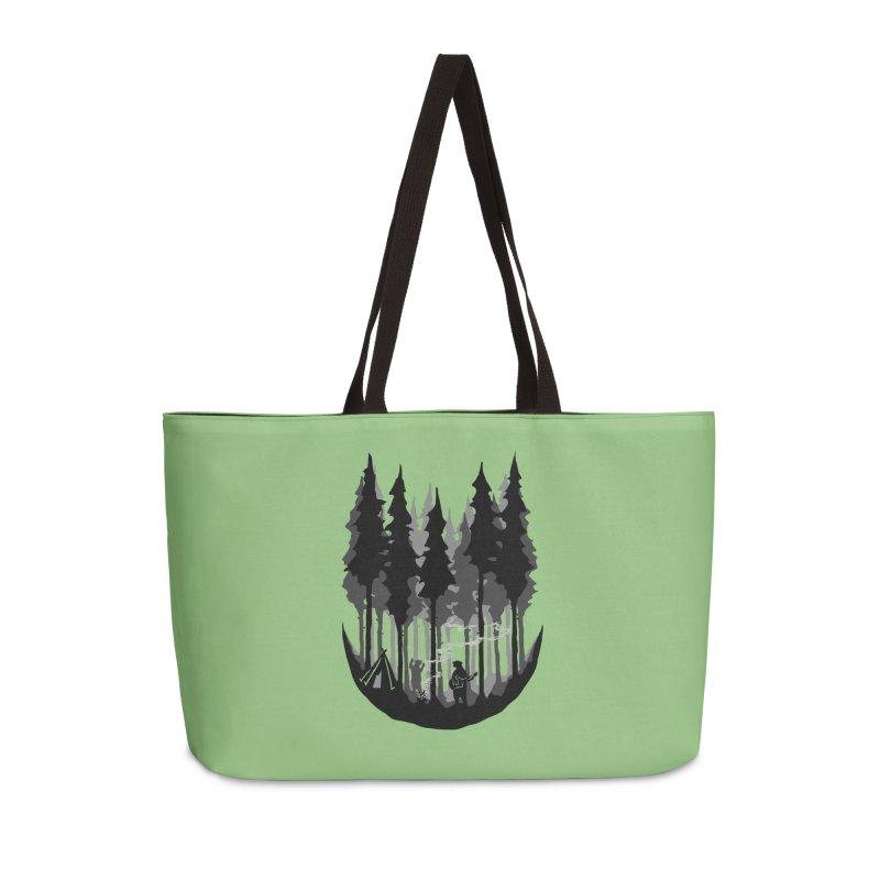 Enjoy camping Accessories Weekender Bag Bag by barmalisiRTB