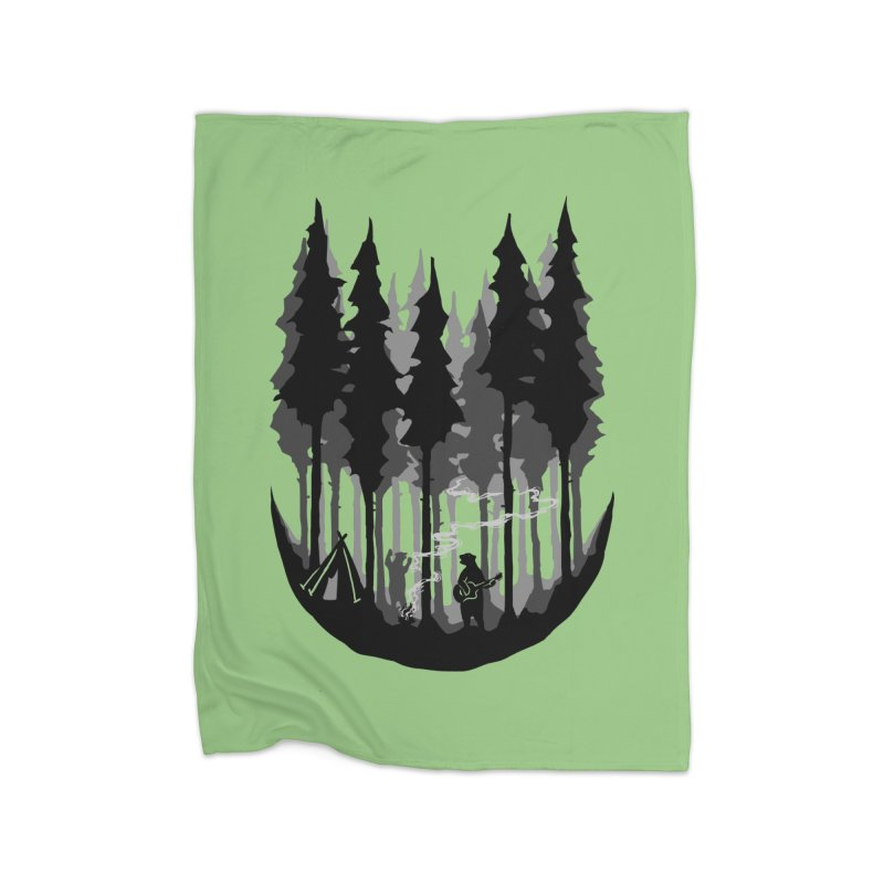 Enjoy camping Home Blanket by barmalisiRTB