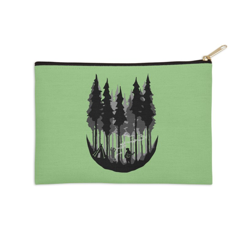 Enjoy camping Accessories Zip Pouch by barmalisiRTB