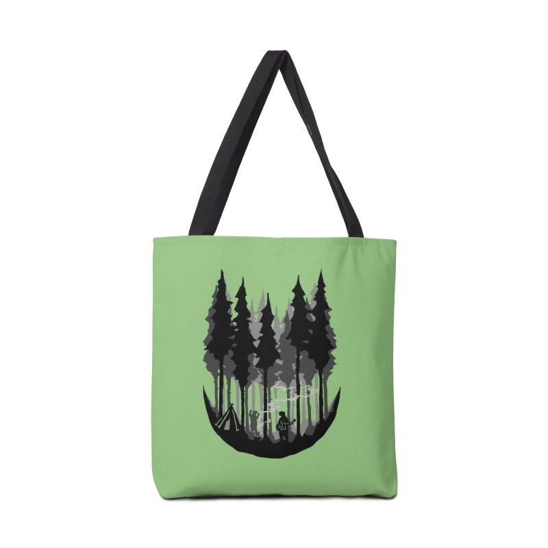 Enjoy camping Accessories Tote Bag Bag by barmalisiRTB