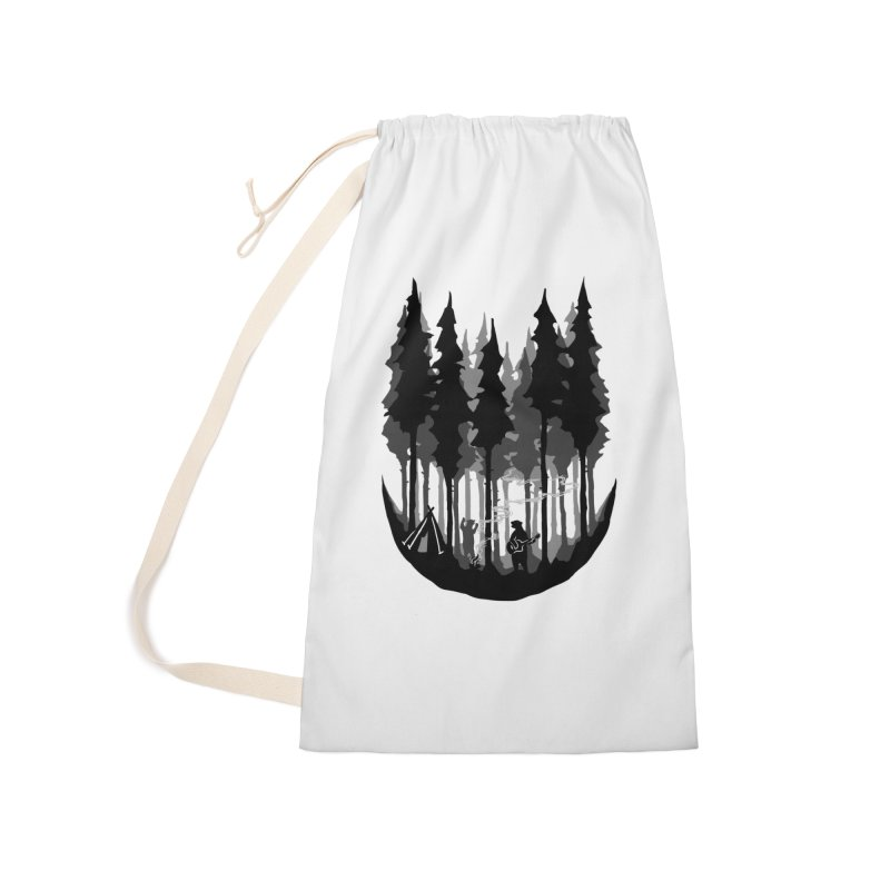 Enjoy camping Accessories Laundry Bag Bag by barmalisiRTB