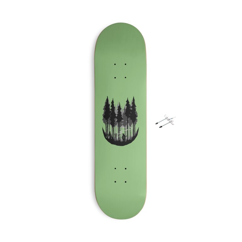 Enjoy camping Accessories With Hanging Hardware Skateboard by barmalisiRTB
