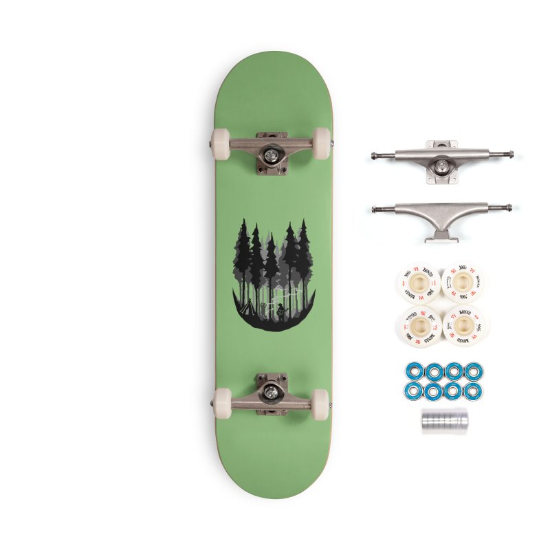 Enjoy camping Accessories Complete - Premium Skateboard by barmalisiRTB