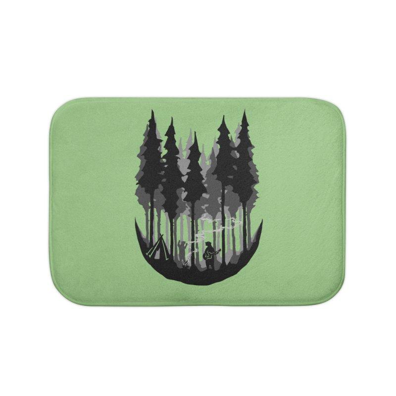 Enjoy camping Home Bath Mat by barmalisiRTB