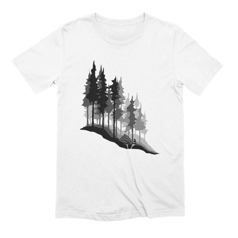 Romantic Camping Men's Extra Soft T-Shirt by barmalisiRTB