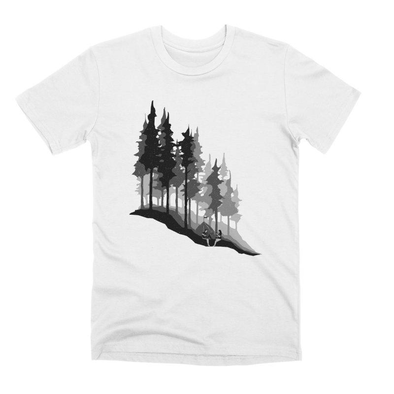 Romantic Camping Men's Premium T-Shirt by barmalisiRTB