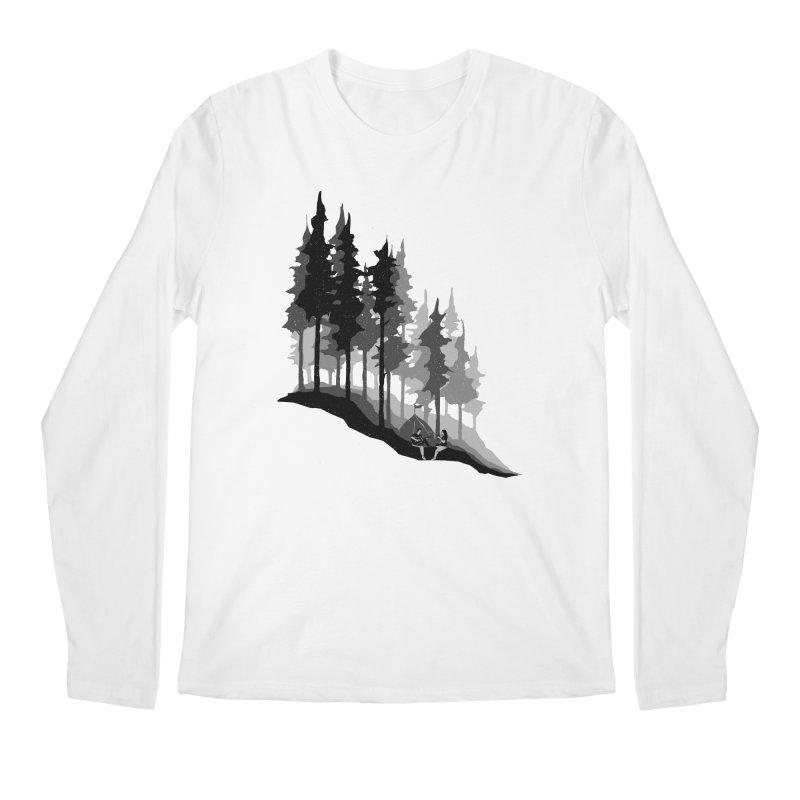 Romantic Camping Men's Regular Longsleeve T-Shirt by barmalisiRTB