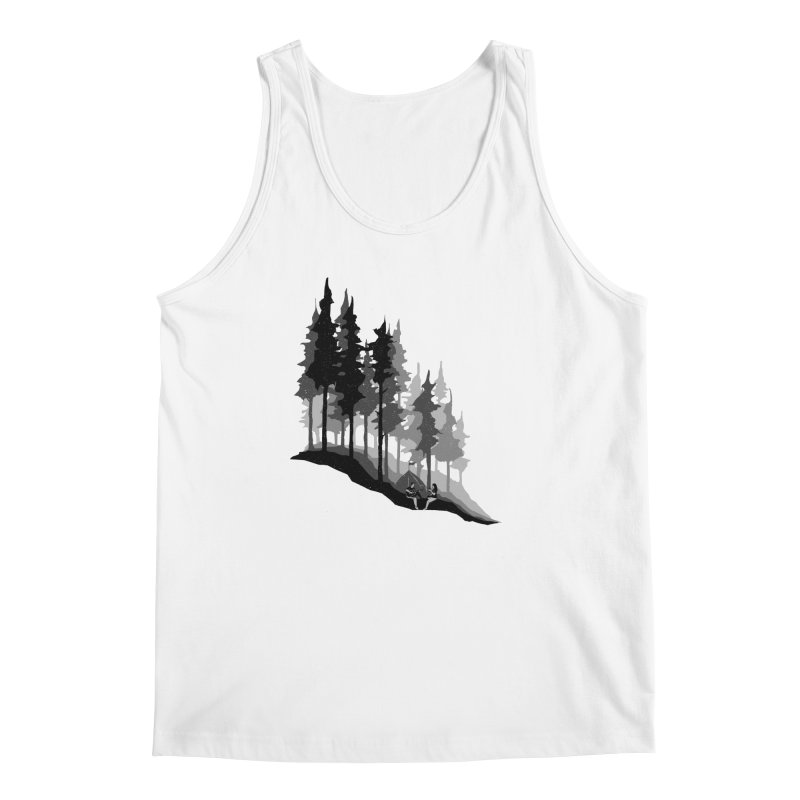 Romantic Camping Men's Regular Tank by barmalisiRTB