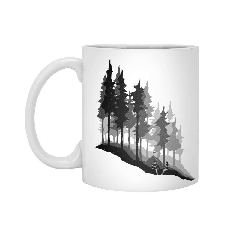 Romantic Camping Accessories Standard Mug by barmalisiRTB