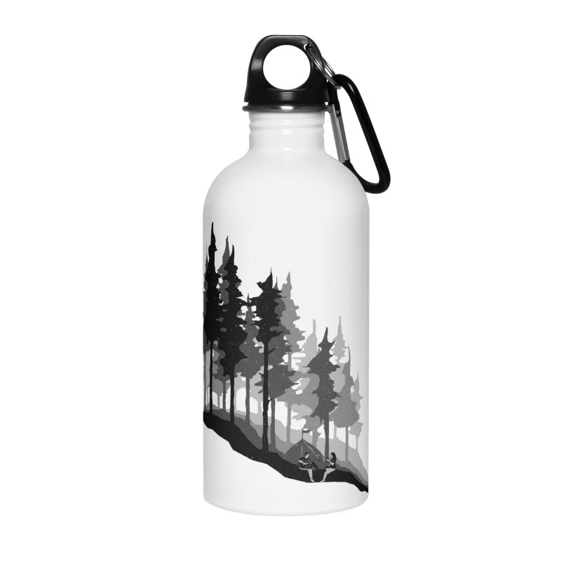 Romantic Camping Accessories Water Bottle by barmalisiRTB