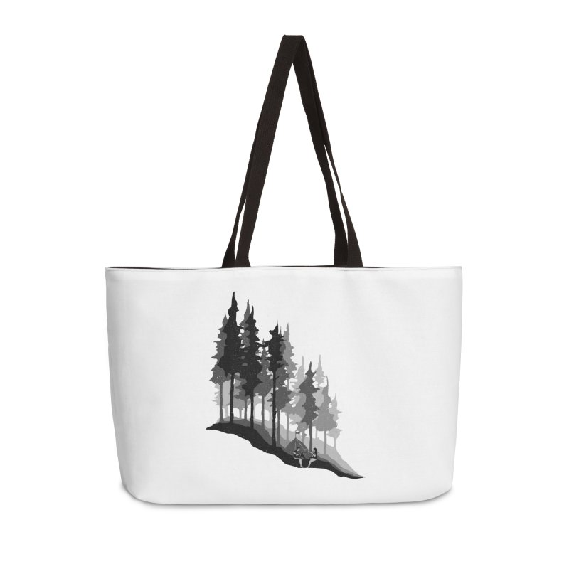 Romantic Camping Accessories Weekender Bag Bag by barmalisiRTB