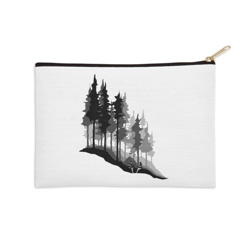 Romantic Camping Accessories Zip Pouch by barmalisiRTB