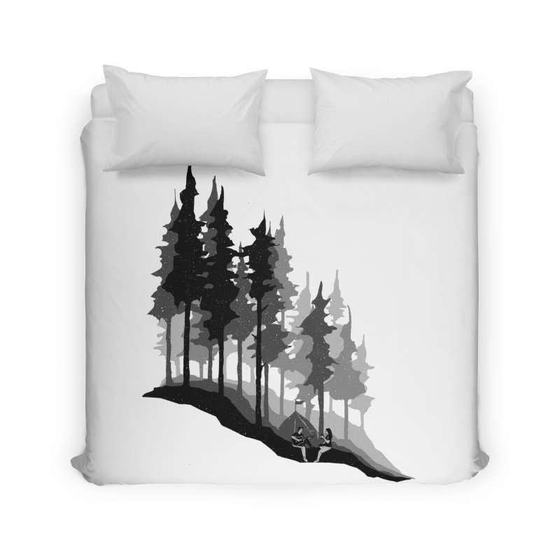 Romantic Camping Home Duvet by barmalisiRTB