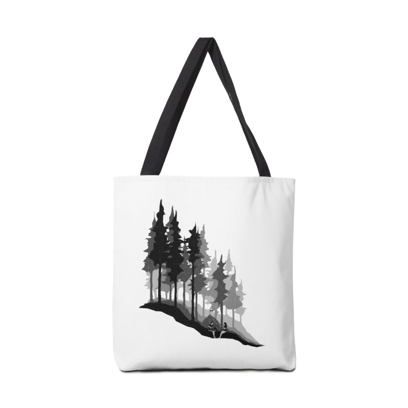Romantic Camping Accessories Tote Bag Bag by barmalisiRTB