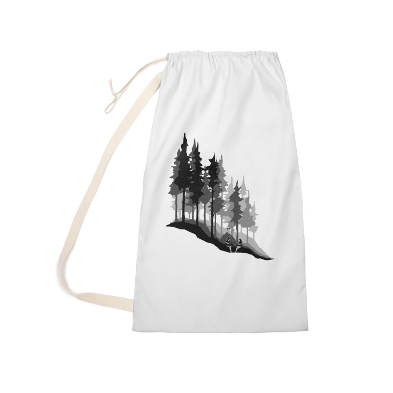 Romantic Camping Accessories Laundry Bag Bag by barmalisiRTB