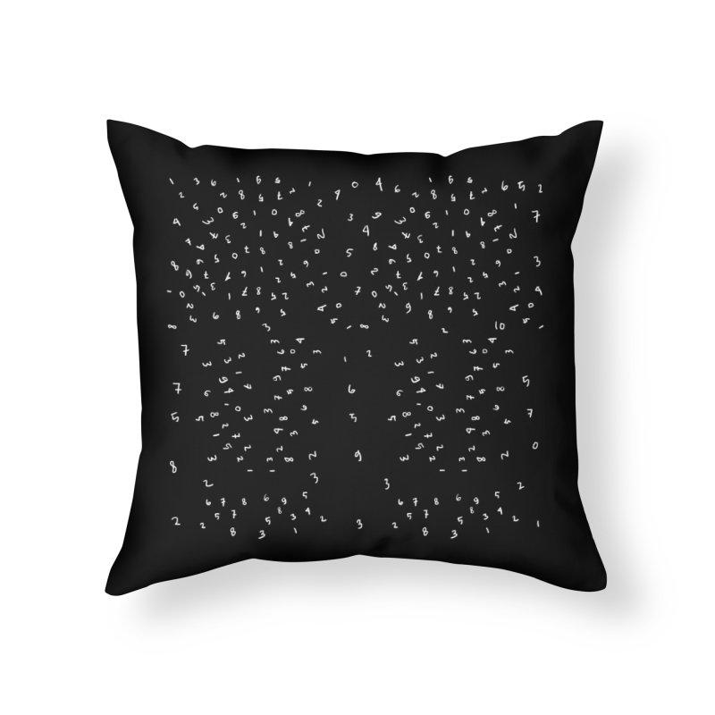 Random number Home Throw Pillow by barmalisiRTB