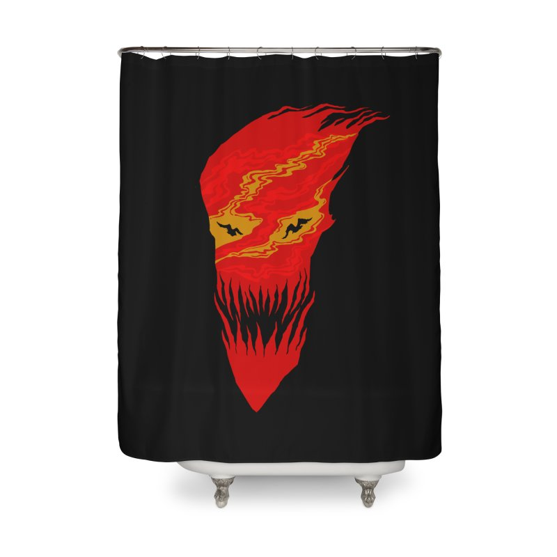 Mystery night Home Shower Curtain by barmalisiRTB