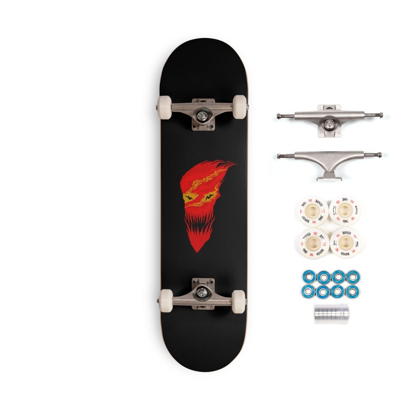 Mystery night Accessories Complete - Premium Skateboard by barmalisiRTB