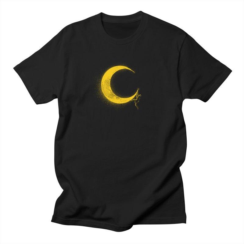 Climbing Moon Women's Regular Unisex T-Shirt by barmalisiRTB