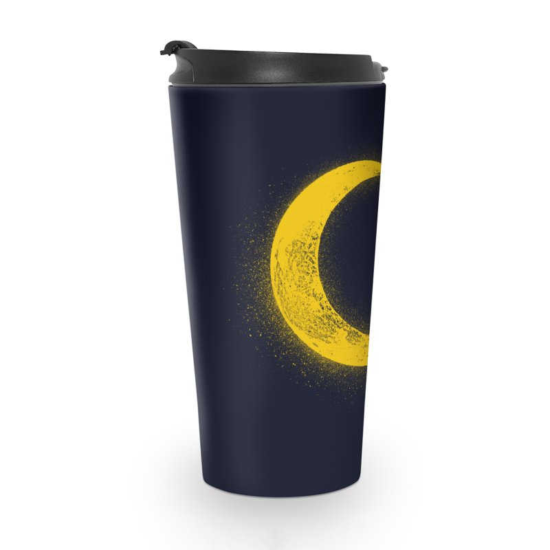 Climbing Moon Accessories Travel Mug by barmalisiRTB