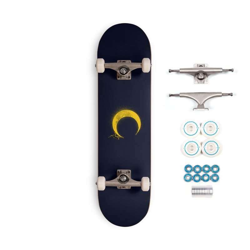 Climbing Moon Accessories Complete - Basic Skateboard by barmalisiRTB