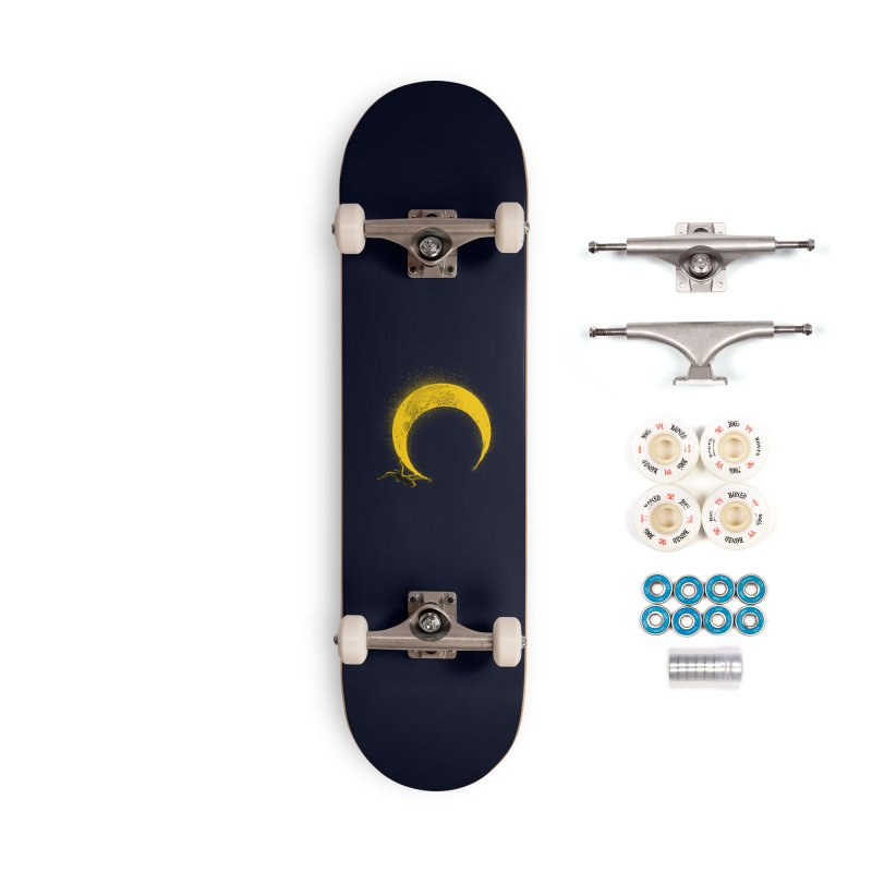 Climbing Moon Accessories Complete - Premium Skateboard by barmalisiRTB